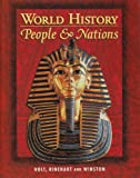 Holt World History: People and a Nation: Student Edition Grades 9-12 2000