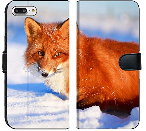 Placemat Purse - Apple iPhone 8 Plus Flip Fabric Wallet Case red Fox Image 35808417 Customized Tablemats Stain Resistance Collector Kit Kitchen Tabl