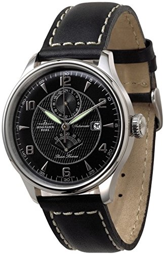 Zeno-Watch Mens Watch - Godat II GMT + Power Reserve - 6273GMTPR-g1