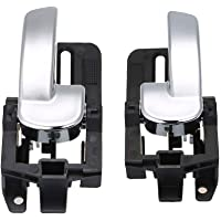 OBCWSG Car Styling Right Left Inner Door Panel Handle Pull Trim Holder Auto Interior Accessories,For BMW E70 X5 E71 E72 X6 SAV