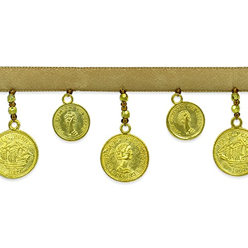 Expo International Coin Trim, 10 yd, Gold by Expo International