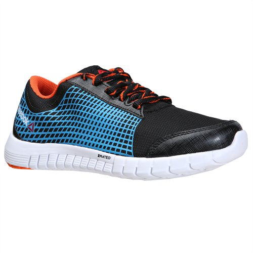 Reebok - Z Run - V59708 - Couleur: Bleu-Noir-Orange - Pointure: 38.0
