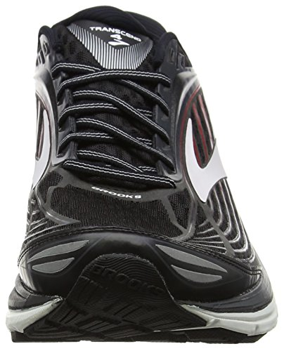 Brooks Men's Transcend 4 Gymnastics Shoes Black (Black/Anthracite/Toreador) nK69Os
