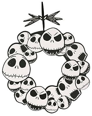"The Nightmare Before Christmas Jack Skellington 17"" Wreath"