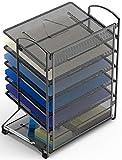 SimpleHouseware 6 Trays Desktop Document Tray