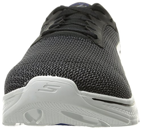 Skechers Performance Herren Go Walk 4-Noble Sneaker Schwarz Blau