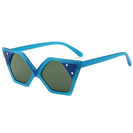 Yangjing-hl Gafas de Sol Tendencia Personalidad Ojos de Gato ...