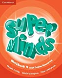 Super Minds Level 4 Workbook with Online Resources - 9781107483033
