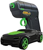 Max Traxxx R/C Tracer Racers High Speed Remote Control 1:64 Scale Race Car - Green, Channel B