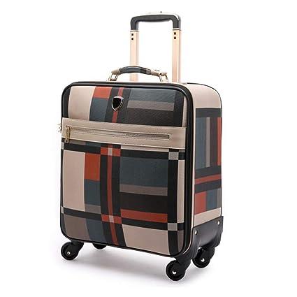Flight Case Maleta de Equipaje de Mano para Viaje con Equipaje súper Ligero con 4 Ruedas
