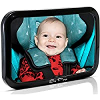 Baby Backseat Mirror for Car - View Infant in Rear Facing Car Seat - 100% Lif...