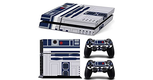 Ps4 Playstation 4 Console Skin Decal Sticker R2D2 Star Wars + 2 Controller Skins Set by ZoomHit: Amazon.es: Videojuegos