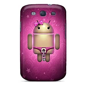 Snap-on Case Designed For Galaxy S3- She Droid