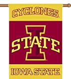 NCAA Iowa State Cyclones 2-Sided 28-by-40 inch House Banner with  Pole Sleeve