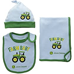 John Deere Baby Farm Baby Set, Light Blue/Green, One Size