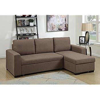 Amazon Com 1perfectchoice Modern 2 Pcs Sectional Sofa