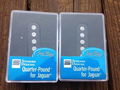 3 Quarter Pound Jaguar SET Bridge & Neck for Fender Guitar ()