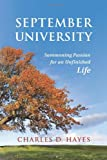 September University, Charles D. Hayes, 0962197971