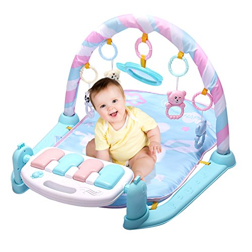 Baby Play Mat Fitness Bodybuilding Frame Pedal Piano Music Carpet Blanket