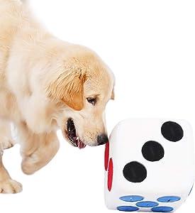 Alfombra Olfato Perro Mascotas,Juguete de Inteligencia Perro,Juguete para Perro,Perros de Juguete,Juguete de Felpa,Juguete de Peluche para Perros de Dados Snuffle Mat
