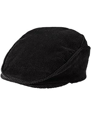 Carter's Baby Boys Corduroy Newsboy Cap Hat (3-9m, Black)