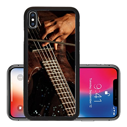 Liili Premium Apple Iphone X Aluminum Backplate Bumper Snap Case Playing Bass Guitar In Concert Detail Photo 19757406