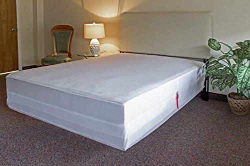 l u0026 39 cozee waterproof zippered mattress encasement cover with