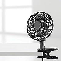 6-Inch Clip Fan, Black