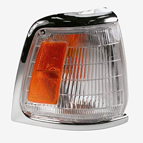 Corner Lamp with Bulb-R Chrome 89-91 TOYOTA PICKUP 2WD 4RUNNER Passenger Side