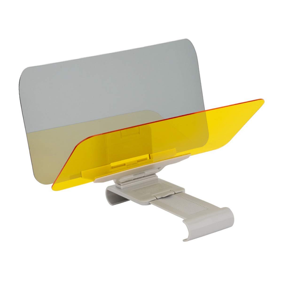 ECYC Car Sun Visor HD Clear Anti-Sun Dazzling Goggle Day Night Vision Driving Mirror TM E41002473