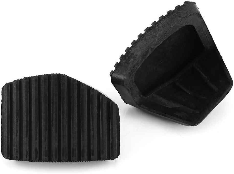 ROSEBEAR 1 paire de pi/èces automobiles de rechange de carrosserie embrayage de caoutchouc de la p/édale de frein pour peugeot//citroen 1007 207 208 301 c3 c4 c5 c6 c8