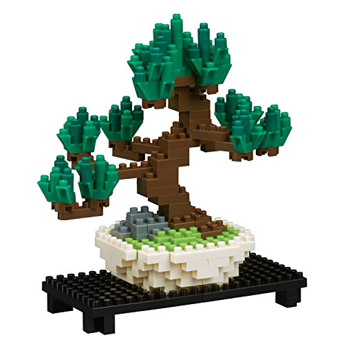 Nanoblock Pine Bonsai Tree Building Kit