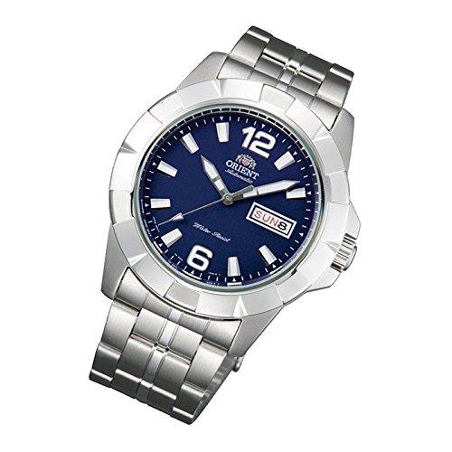 Orient Sporty - Reloj de pulsera automático Blue Día Fecha Señor Reloj de pulsera Cristal suelo fem7l004d9: Amazon.es: Relojes
