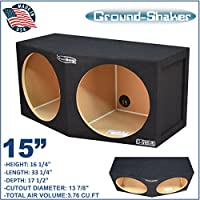 Ground-shaker 15 Dual Compact Subwoofer Enclosure