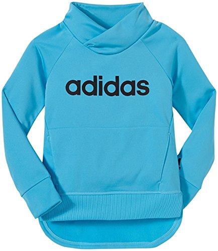 adidas Little Girls Performance Pullover Sweatshirt