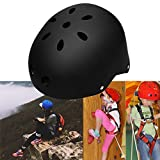 Kaluo Kids Adjustable Protective Safety Helmet for Roller Skate Bicycle Skateboard Hoverboard Extreme Sports Activities(US Stock) (Black)