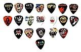 Legendary Bands Guitar Picks- [Mega-Standard] 20
