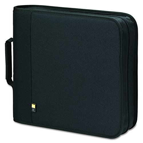 - Case Logic BNB-208 208 Capacity CD/DVD Prosleeve Nylon Binder (Black)