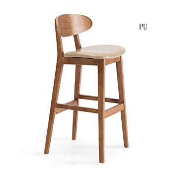 Awesome Gzd Tall Stool Retro Kitchen Stools With Solid Wood High Creativecarmelina Interior Chair Design Creativecarmelinacom