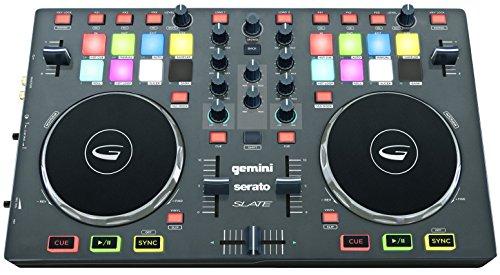 Gemini SLATE 2-Channel Serato Dj Intro Controller