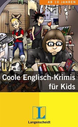 Coole Englisch-Krimis für Kids - Schuber mit 3 Büchern
