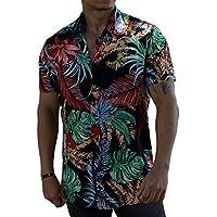 Camisa com Estampa Floral Masculina Floresta Brasileira