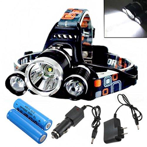 Bazaar Xm-l t6 LED 3t6 flambeau de phare de phare rechargeable