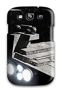 Galaxy S3 Hard Back With Bumper Silicone Gel Tpu YY-ONE Amazing Star Destroyer By Coringafx