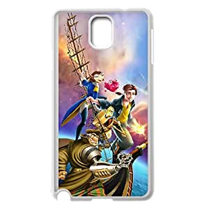 Samsung Galaxy Note 3 Cell Phone Case White Disney Treasure Planet Character Captain Amelia O8N9Q
