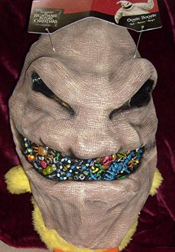 Gatton Nightmare Before Christmas Oogie Boogie Halloween Costume Vinyl Overhead MASK -