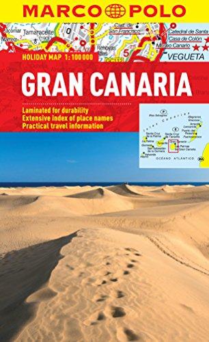 Gran Canaria Marco Polo Holiday Map (Marco Polo Holiday Maps)