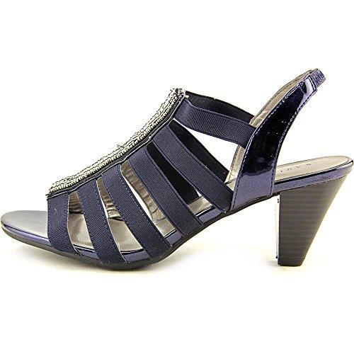 Karen Scott - Sandalias de vestir para mujer azul marino