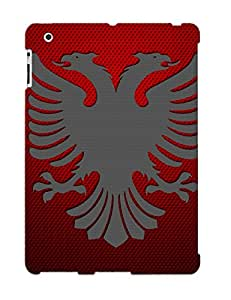 New Albanian Flag Tpu Case Cover, Anti-scratch Zeetriodecol Phone Case For Ipad 2/3/4