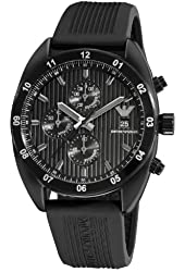 Emporio Armani Men's AR5928 Sport Black Chronograph Dial Watch